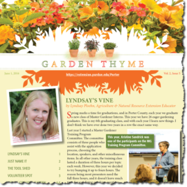Garden Thyme Vol. 2, Issue 5