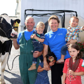 Tom, LuAnn Troxel to Quit Milking Cows After 33 Years